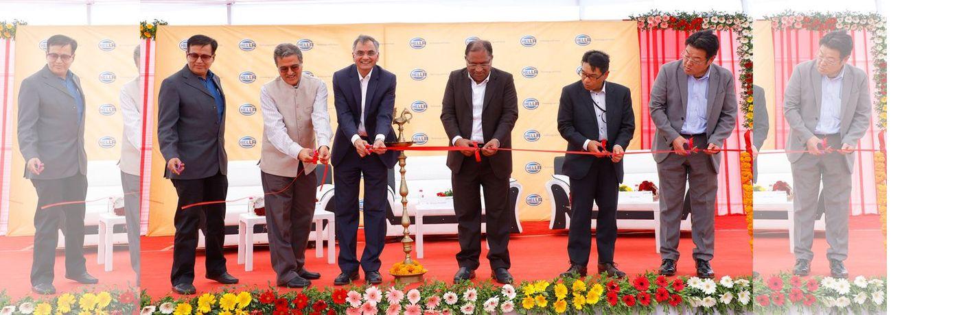 Открытие нового завода HELLA