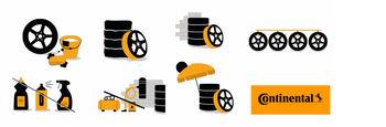 Правила  хранения шин от компании Continental
