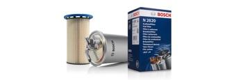 Топливные фильтры Bosch: 90 лет на защите двигателя