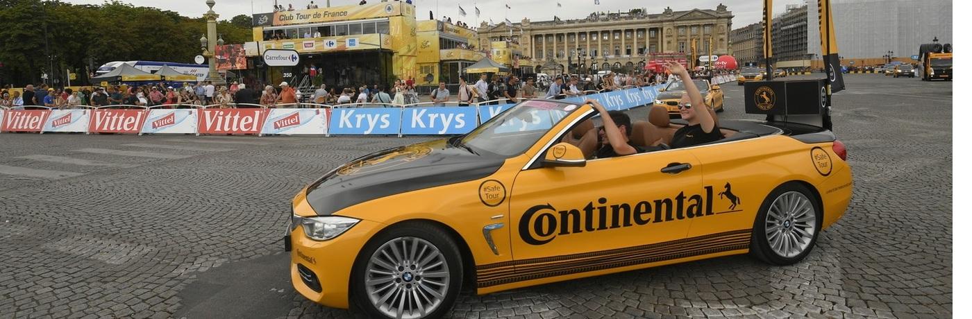 Continental генеральный партнер велогонки Тур де Франс 2019 года